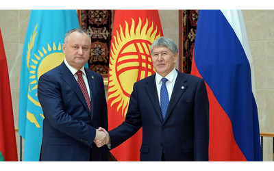 Moldova President says 'serious about further integration with EAEU'