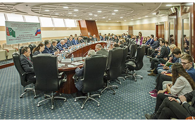 Round table in moscow marks 25th anniversary of diplomatic for Table moscow