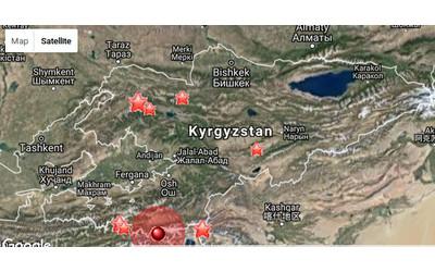 3.5 magnitude earthquake recorded on border of Kyrgyzstan and Tajikistan