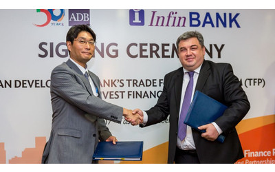 ADB, InFin Bank sign trade finance deal in Uzbekistan
