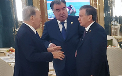 Presidents of Tajikistan, Kazakhstan and Uzbekistan meet in Ashgabat
