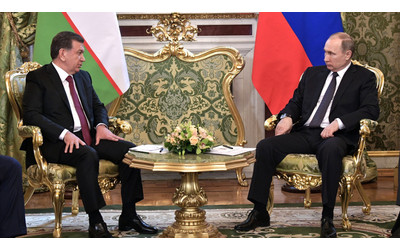 Putin: Russia and Uzbekistan identical positions on many issues of international and regional agenda