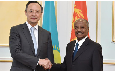 Eritrea FM visits Astana in first ever  government-level visit of Eritrea representative to Kazakhstan