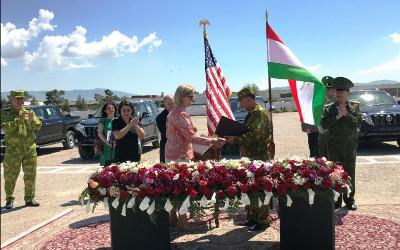 U.S. Embassy donates $6 million to Tajikistan's border guards