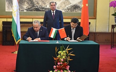 China to allocate $79 mln to Tajikistan for rehabilitation of high-voltage electrical transmission line