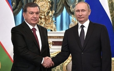 Putin to visit Uzbekistan on invitation of Mirziyoyev
