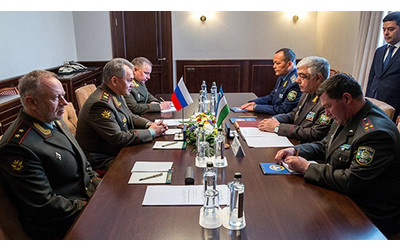 Uzbekistan and Russia exchange instruments of ratification of agreement on military-technical cooperation