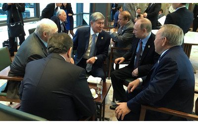 Atambayev had informal meeting with presidents of Russia, Kazakhstan, Belarus, Uzbekistan
