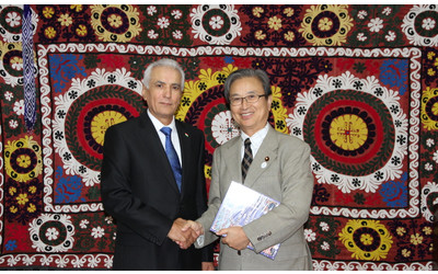 Ambassador of Tajikistan meets with Member of Diet of Japan