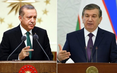Presidents of Uzbekistan, Turkey exchange congratulations on 25th anniversary of diplomatic ties