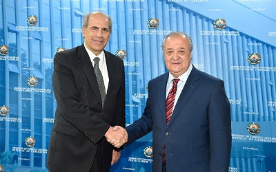 Foreign Minister of Uzbekistan, EU Special Representative for Central Asia review cooperation