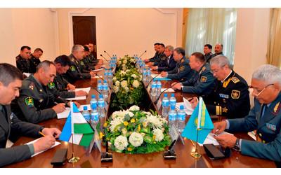 Kazakhstan, Uzbekistan sign military cooperation plan