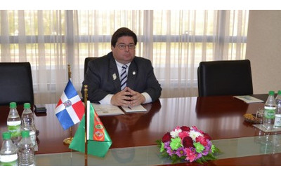 Turkmenistan, Dominican Republic discuss bilateral cooperation