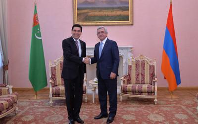 Turkmenistan and Armenia ink bilateral documents