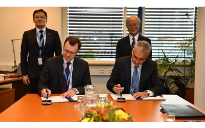 IAEA and Rosatom sign agreement on reclamation of unranium tailings in Kyrgyzstan and Tajikistan