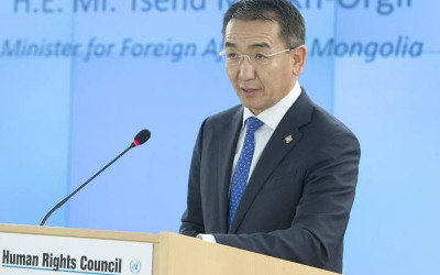 Mongolian Foreign Minister addresses UN Human Rights Council