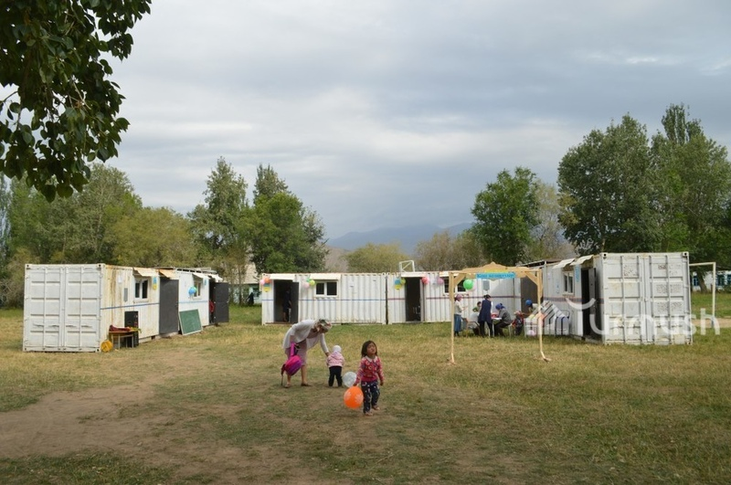 Container school in Naryn came under heavy criticism