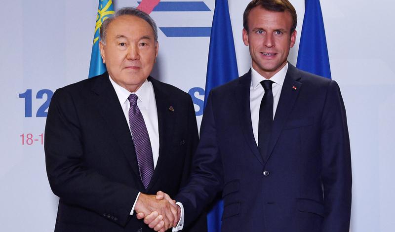 France's Macron to visit Kazakhstan