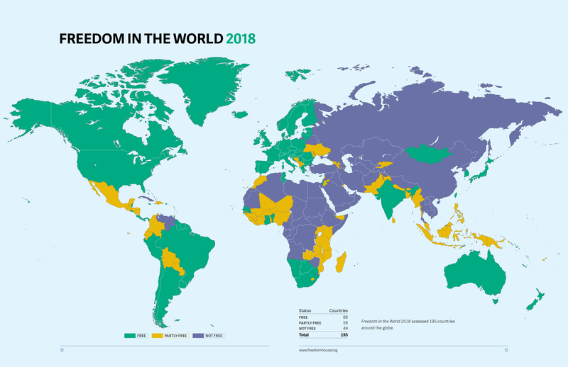 Freedom house kyrgyzstan is the only partly free country in com less than half of the nations in the world are free according to the annual freedom house report measuring the rise and fall of global democracy gumiabroncs Choice Image