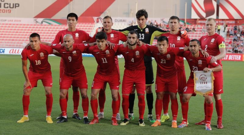 National football team of Kyrgyzstan drops to 95th place in FIFA