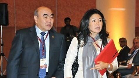 Daughter of ousted president of Kyrgyzstan Bermet Akayeva arrives in Kyrgyzstan