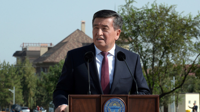 Russian will remain official language in Kyrgyzstan, president says
